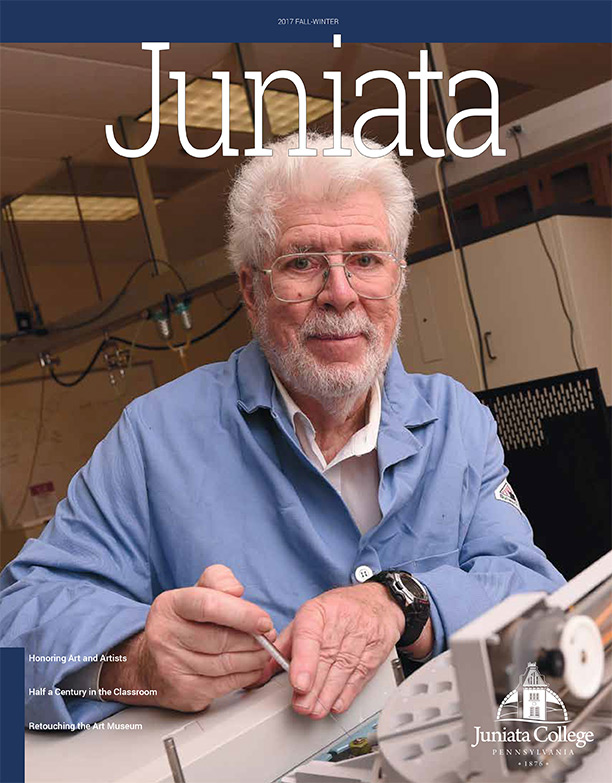Cover of Juniata College Alumni Magazine, Spring-Summer 2015