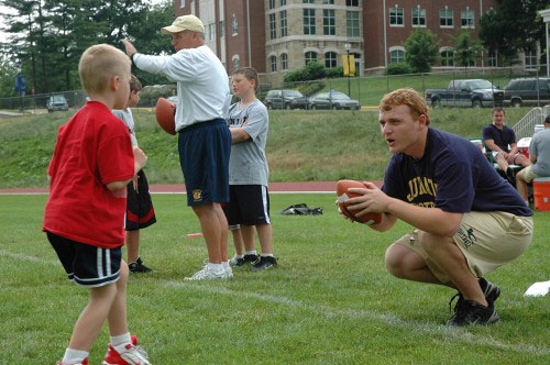 Football Camp at Juniata College