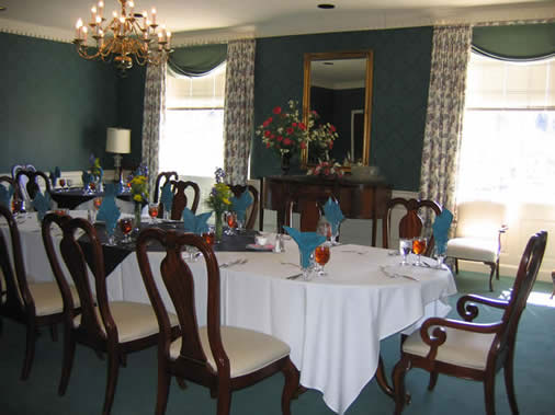 juniata college president dinning room