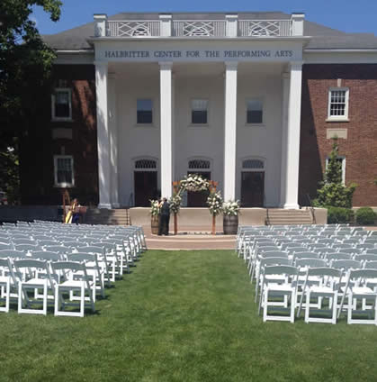 wedding at juniata