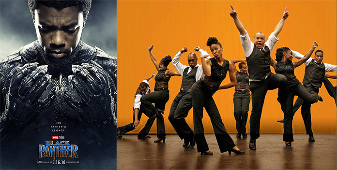 Black Panther and Step Afrika