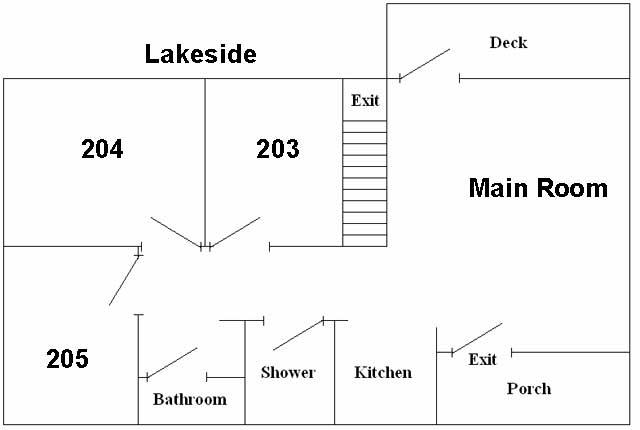 robison floor plan field station