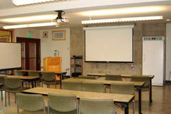 Juniata College field station shuster classroom