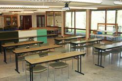 Juniata College field station shuster hall classroom