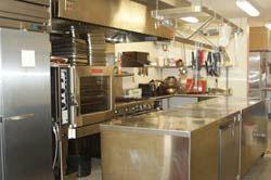 Juniata College field station shuster comercial kitchen