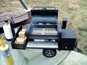 BBQ Smoker at Juniata College