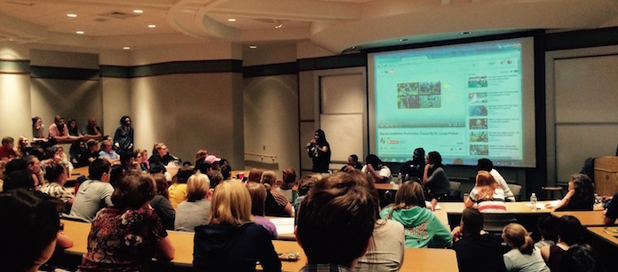 Ferguson Frontline panel presentation 11/4/15