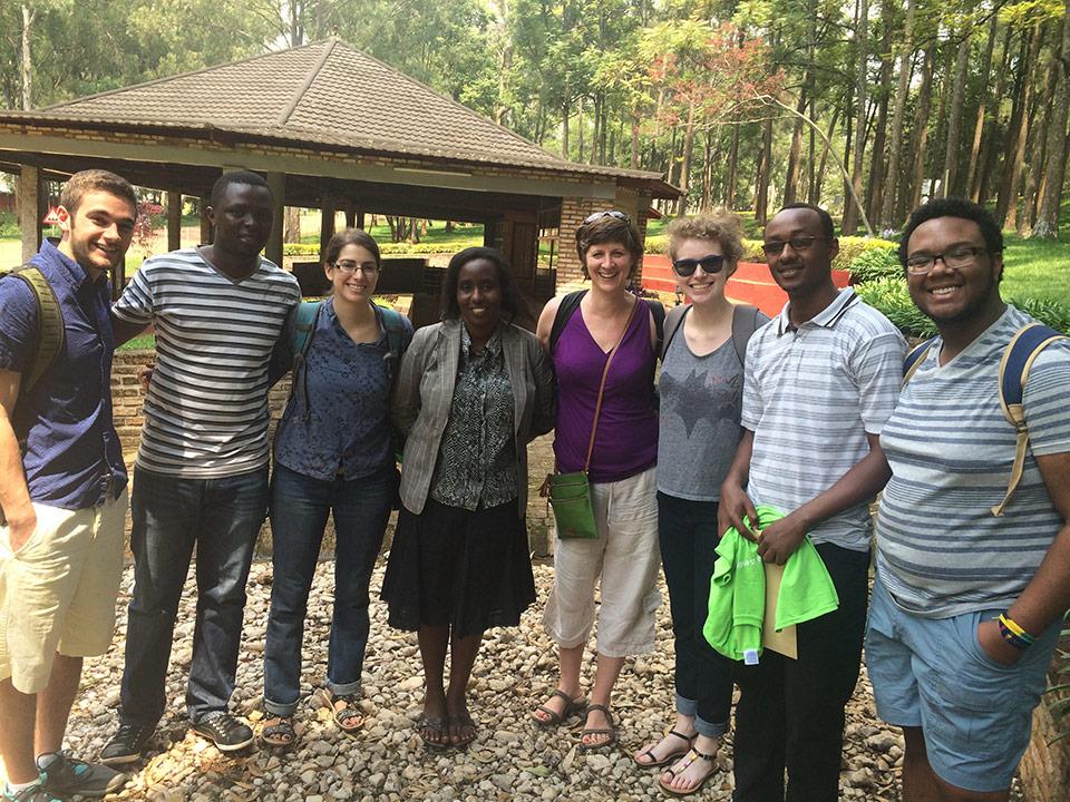 Studying in Rwanda