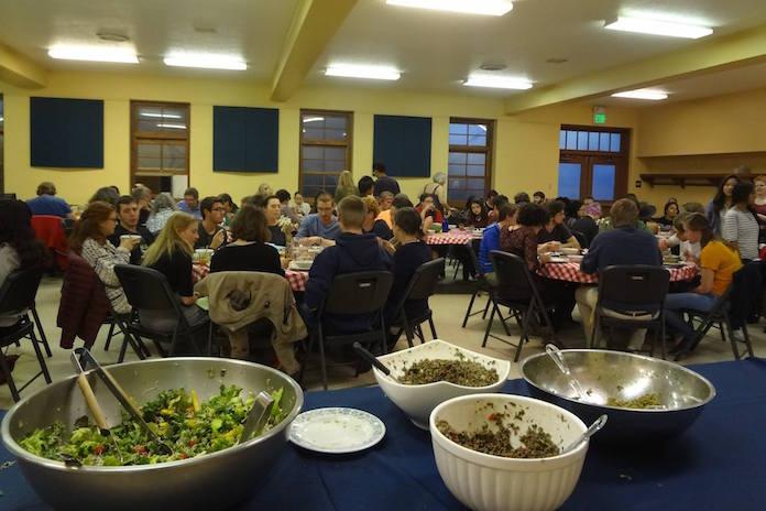 PAX-O serves dinner at FEAST 2015.
