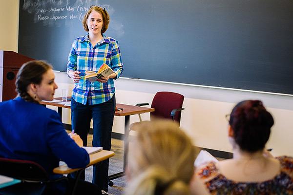 Amy Mathur Teaching